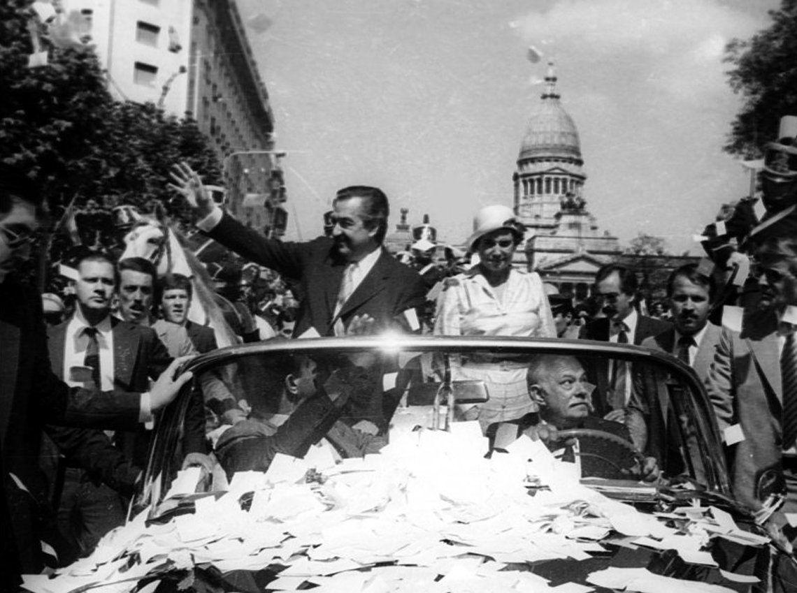 El retorno de la democracia de la mano de Raúl Alfonsín