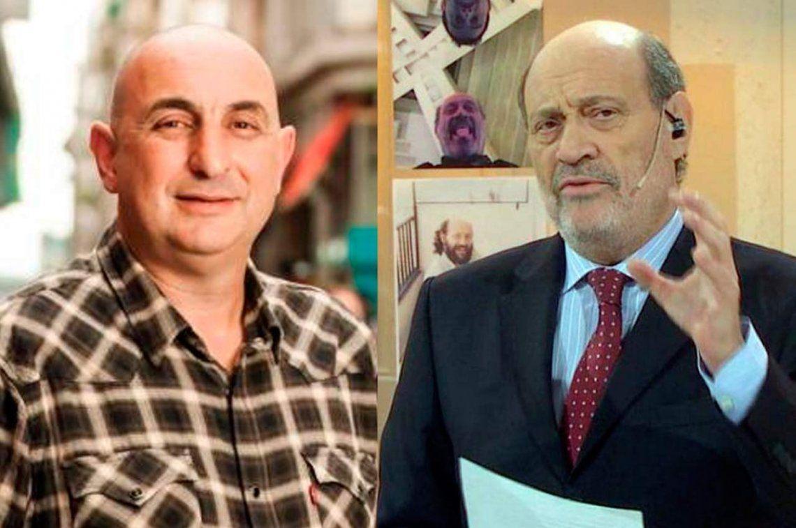 Alfredo Leuco y Javier Vicente revelaron el nombre del supuesto acosador de Romina Manguel