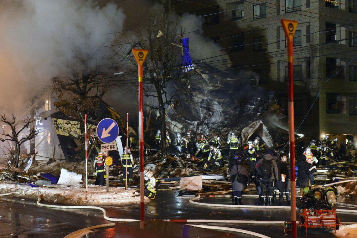 Impresionante explosión en un restaurante de Japón: 41 heridos