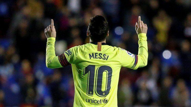 Messi increíble: tres goles y dos asistencias en la goleada del Barcelona