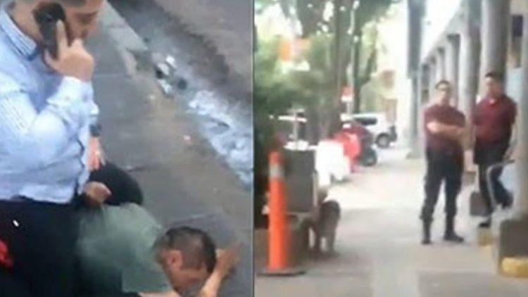 Dos policías se negaron a detener a un ladrón que había robado una casa