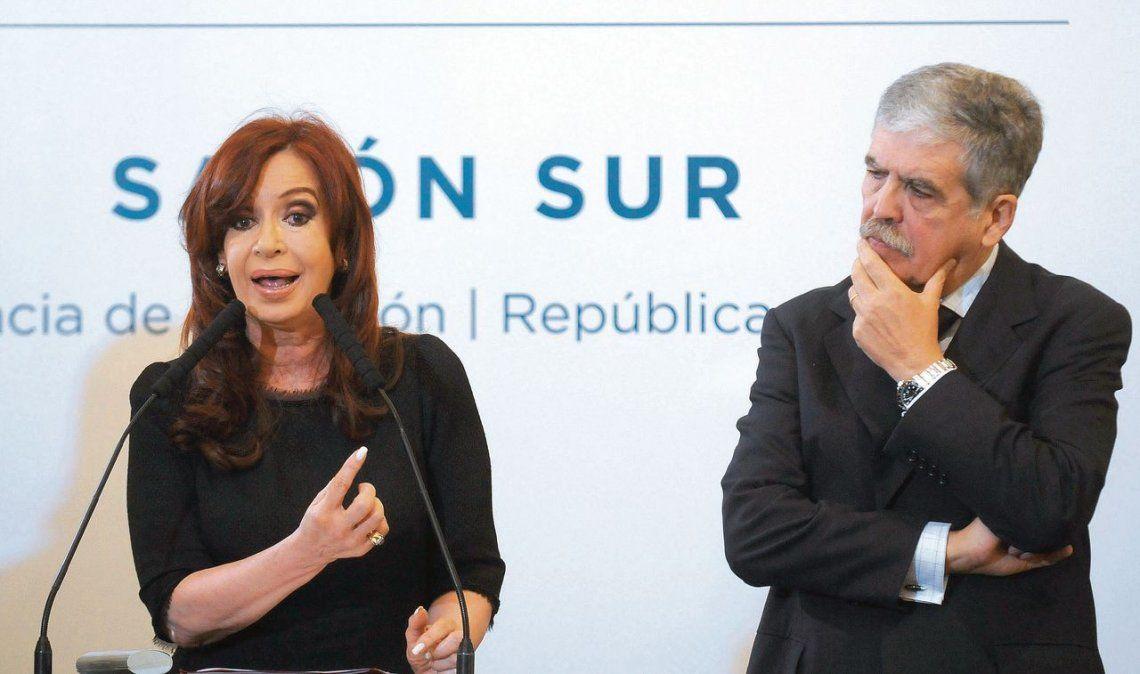 Cristina y De Vido: en la semana se definiría su situación procesal.