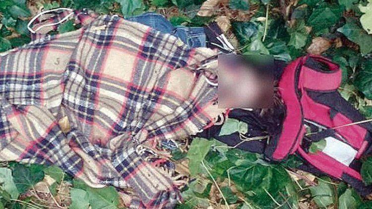 dEl cadáver de la víctima fue hallado por tres chicos en bicicleta.