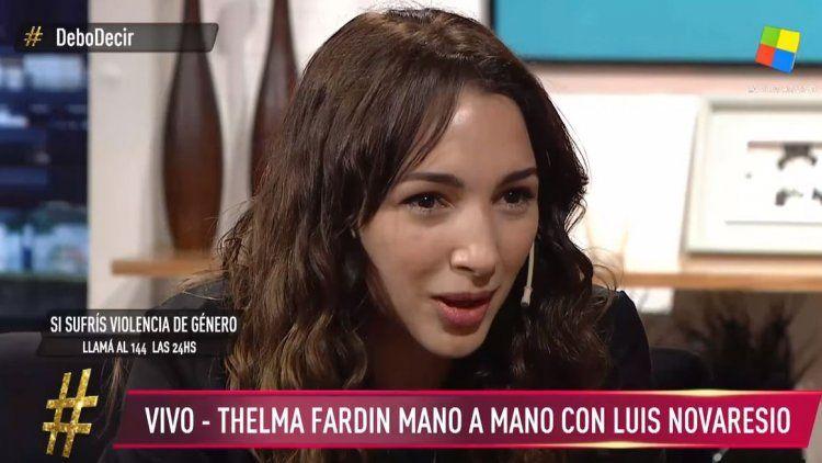 Thelma Fardín: El camino no es el hombre con miedo