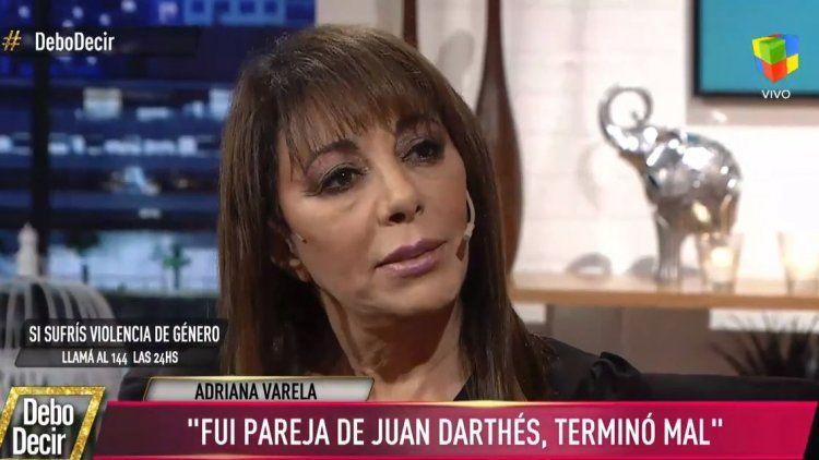 Adriana Varela: Fui pareja de Darthés, pero la cosa terminó mal