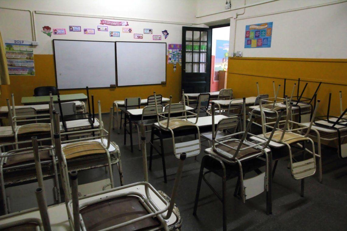 Convocan a paro docente en reclamo de suspensión temporal de la presencialidad en las escuelas