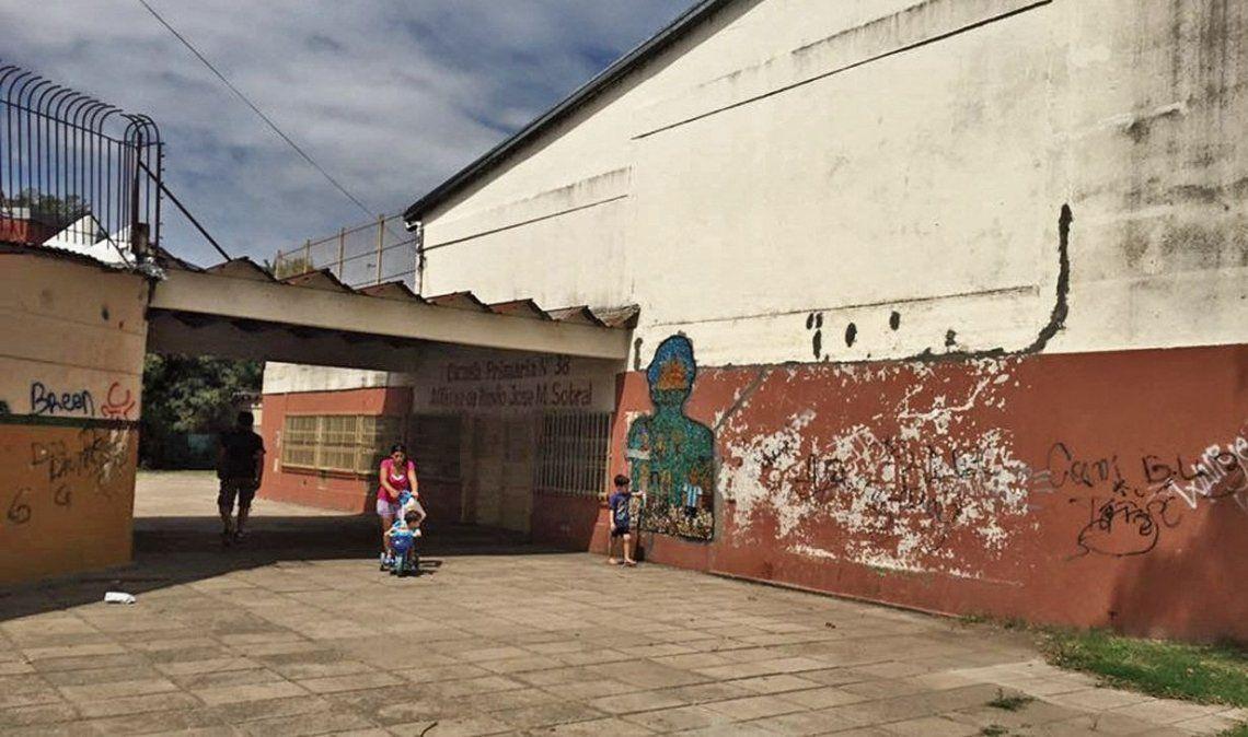 dLa Primaria Nº 38 está ubicada en avenida Milazzo y calle 368.