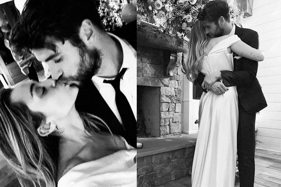 Ante la incredulidad de sus fans, Miley Cyrus tuvo que publicar más fotos de su boda