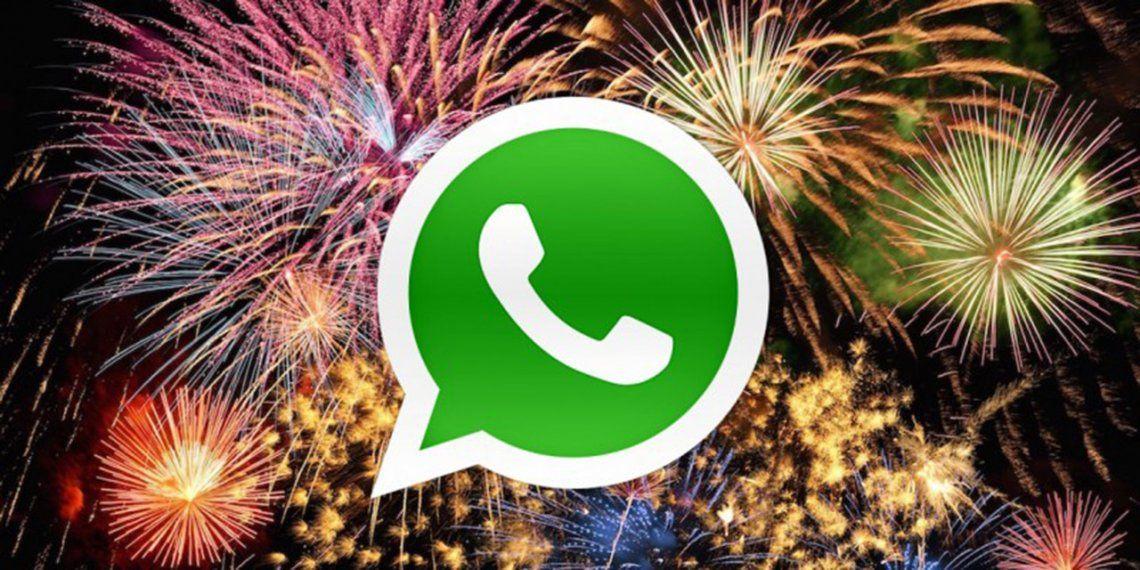 Cómo programar tu saludo de Año Nuevo por WhatsApp
