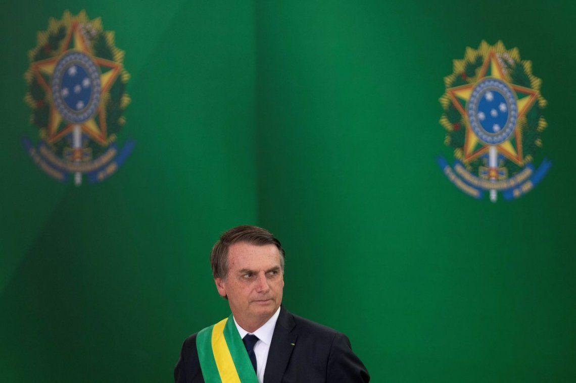 En su discurso de asunción, Bolsonaro prometió combatir la ideología de género