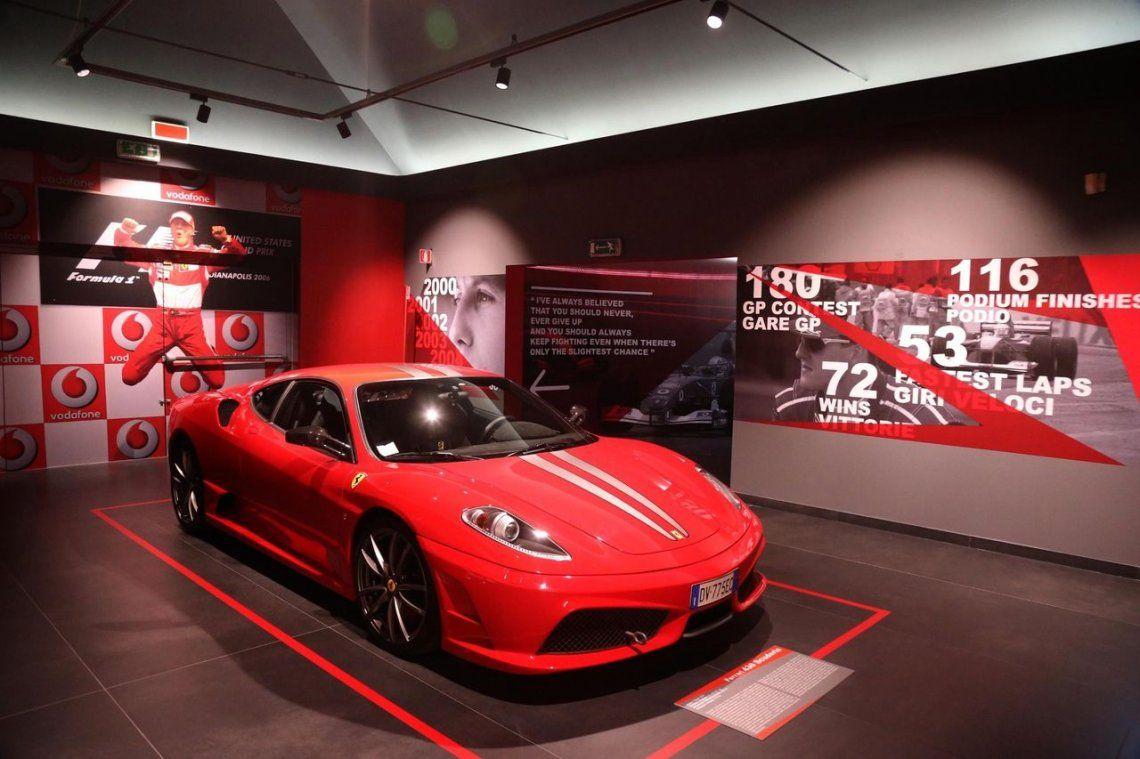 Ferrari recuerda a Schumacher en su cumpleaños 50 con una exposición
