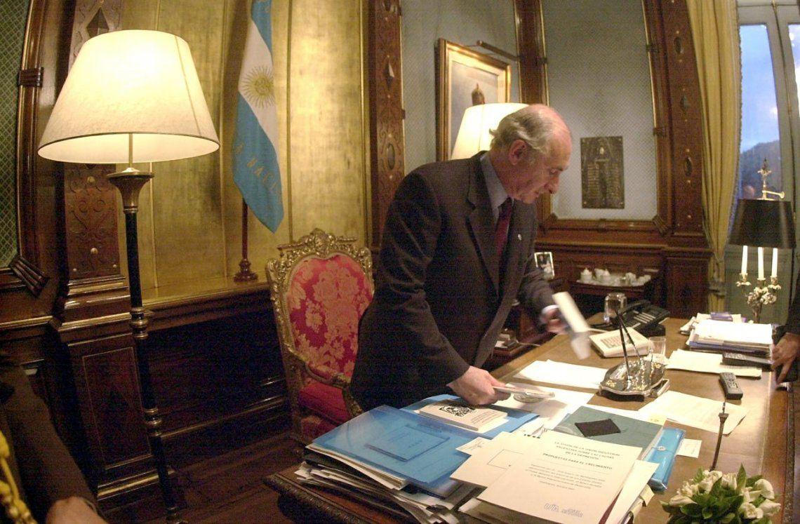 El ex presidente