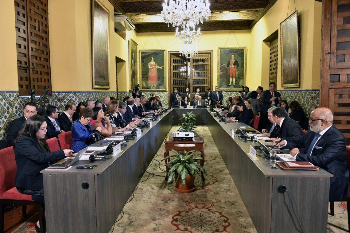 Grupo de Lima: la Argentina y otros 12 países le pidieron a Nicolás Maduro que no asuma su segundo mandato