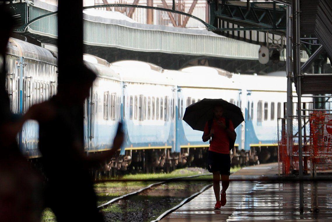 Un domingo con lluvias en la Ciudad y alrededores