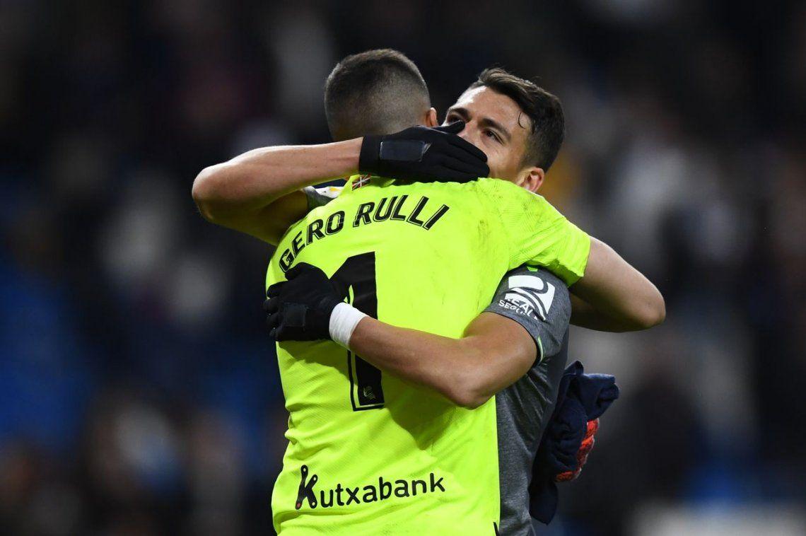 Rulli fue figura y Real Sociedad dio el batacazo ante Real Madrid en el Bernabéu