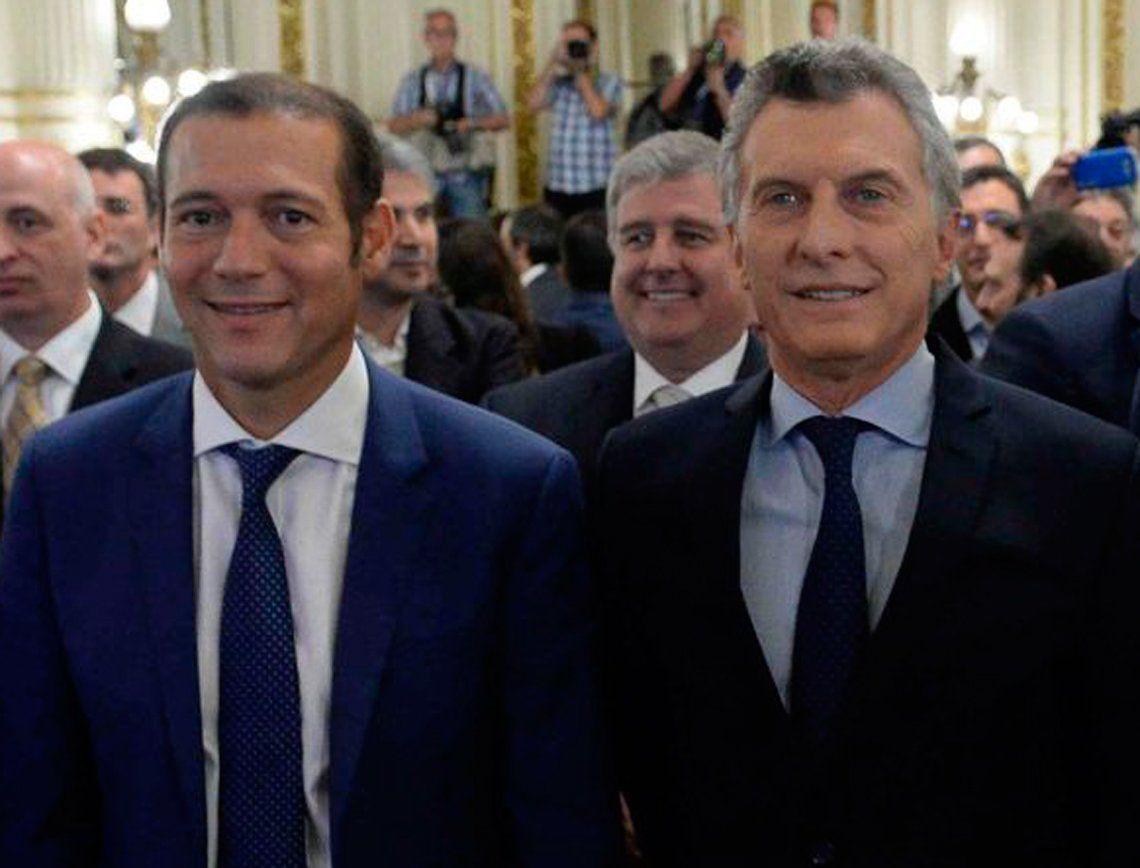 Mauricio Macri mantiene una buena relación con Omar Gutiérrez.