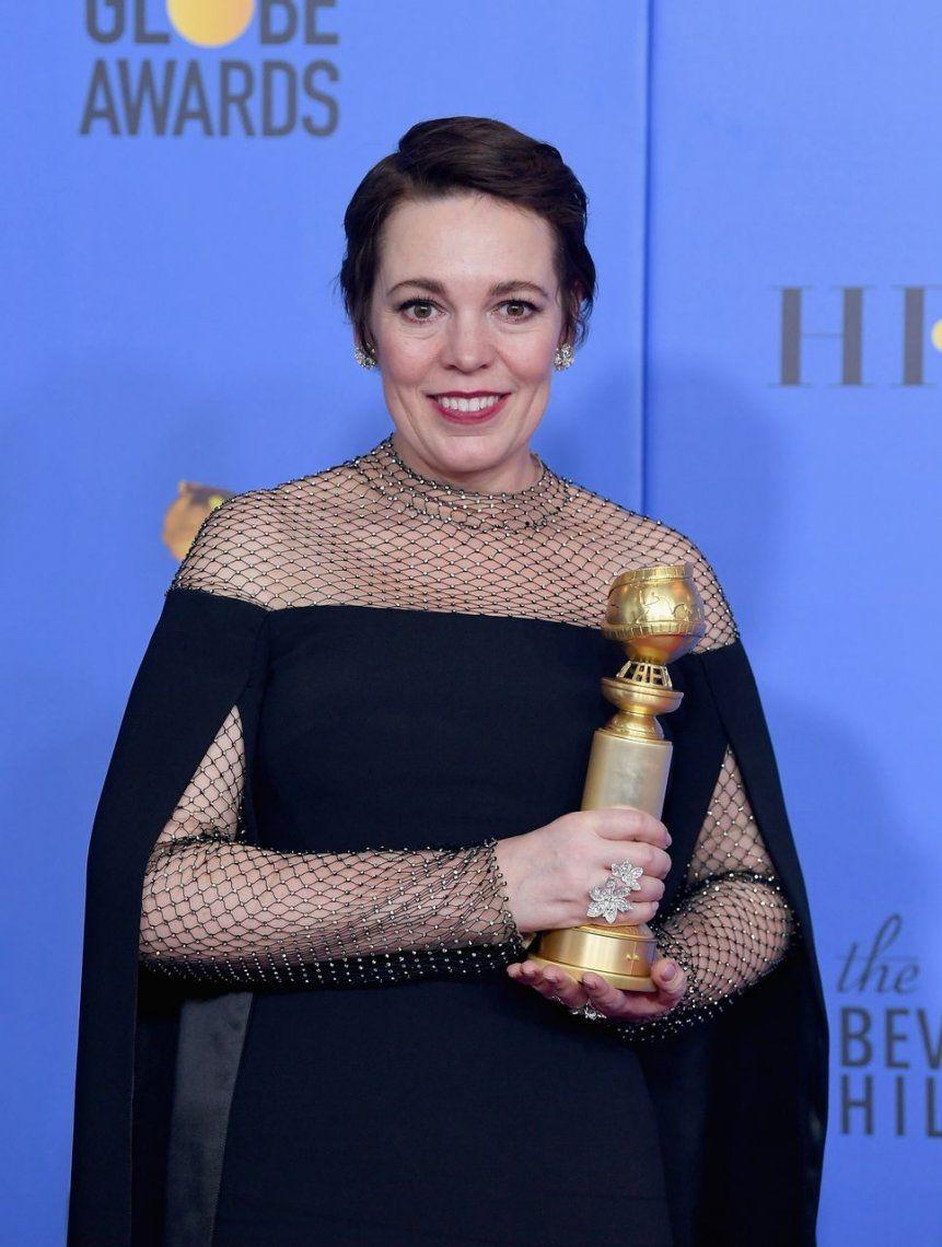 Olivia Colman (The Favourite) - Mejor Actriz: Comedia o Musical