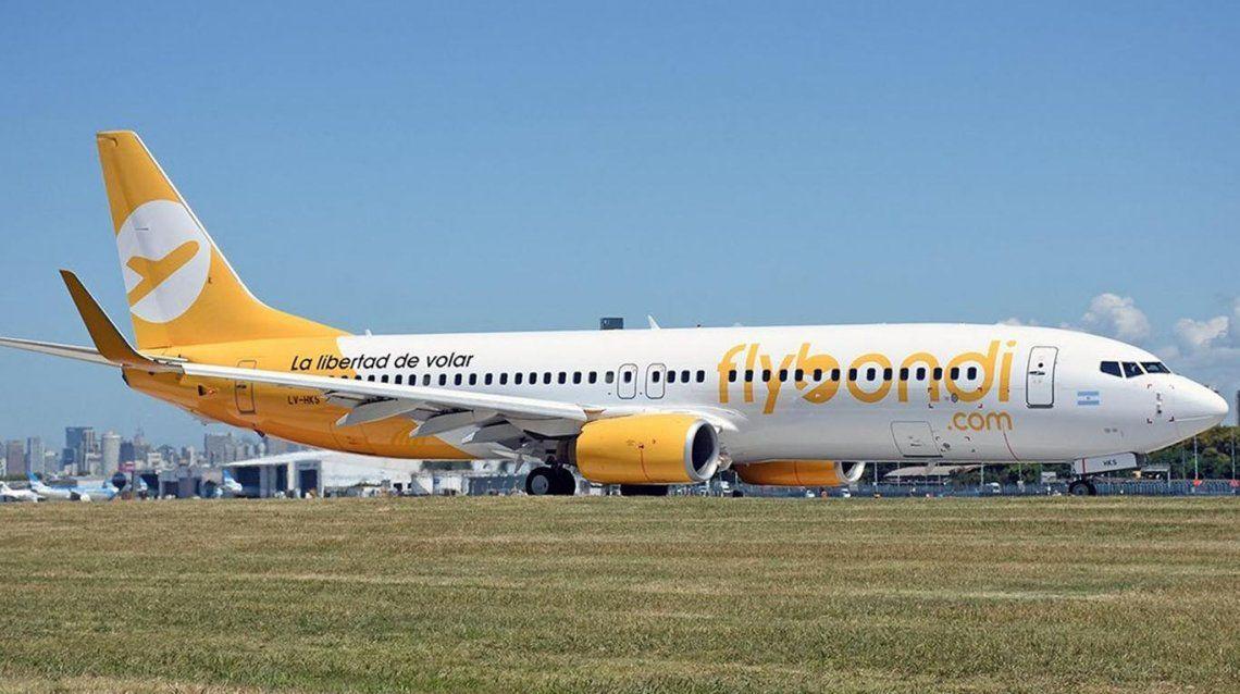 El Gobierno autoriza sindicato para empleados de Flybondi