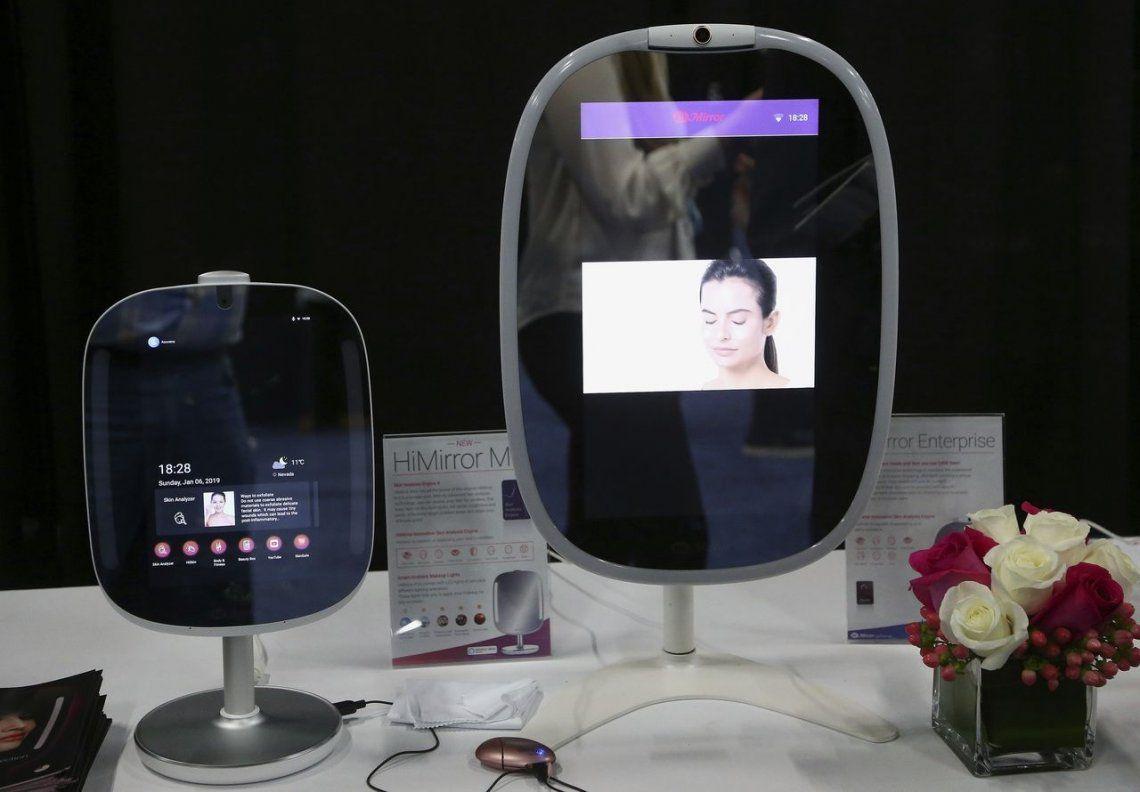 Los HiMirror utilizan su tecnología de análisis de piel para evaluar arrugas