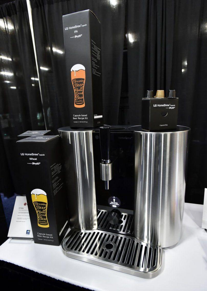 LaLG Hombebrew: la máquina tipo Nespresso para hacer cerveza