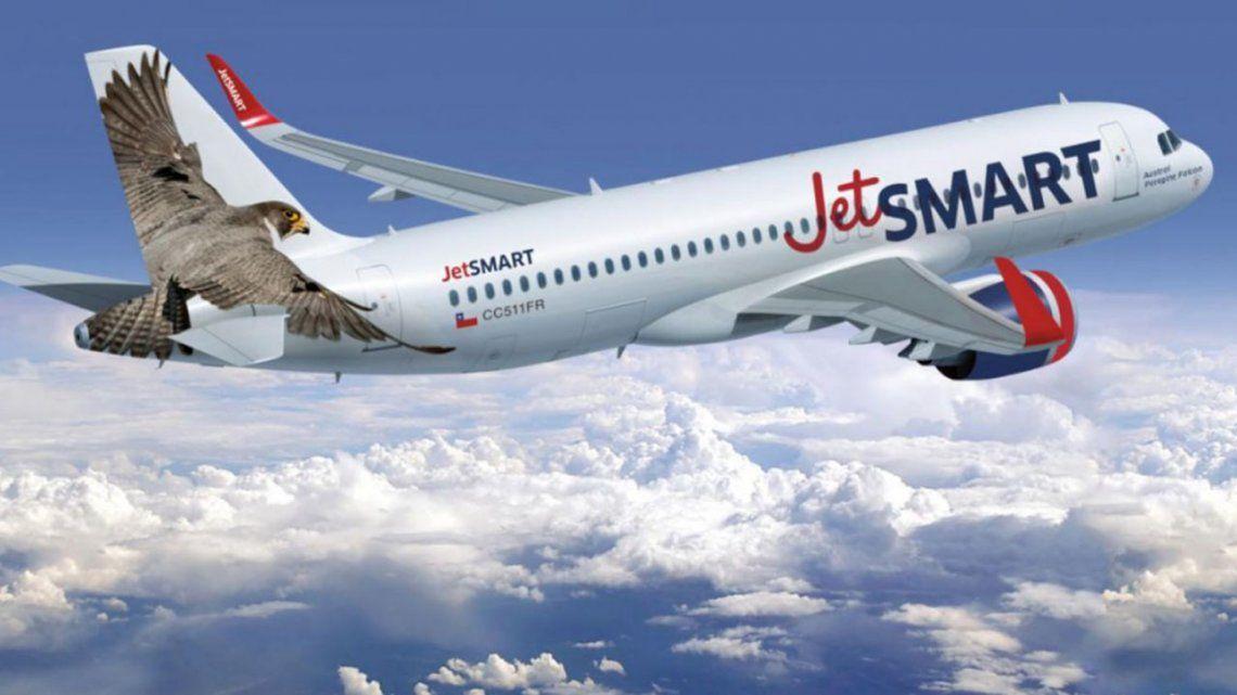 Otorgan 261 rutas aéreas a la low cost JetSmart