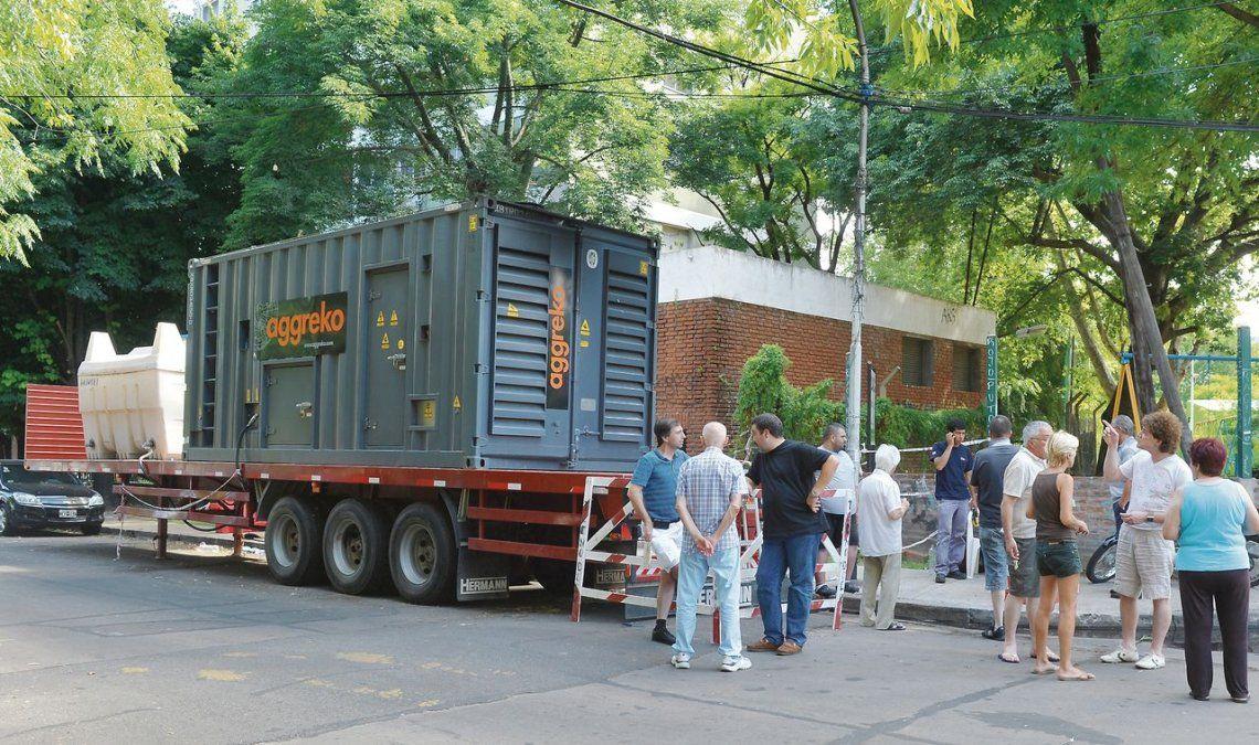 En un sector de Crucesita se logró un generador