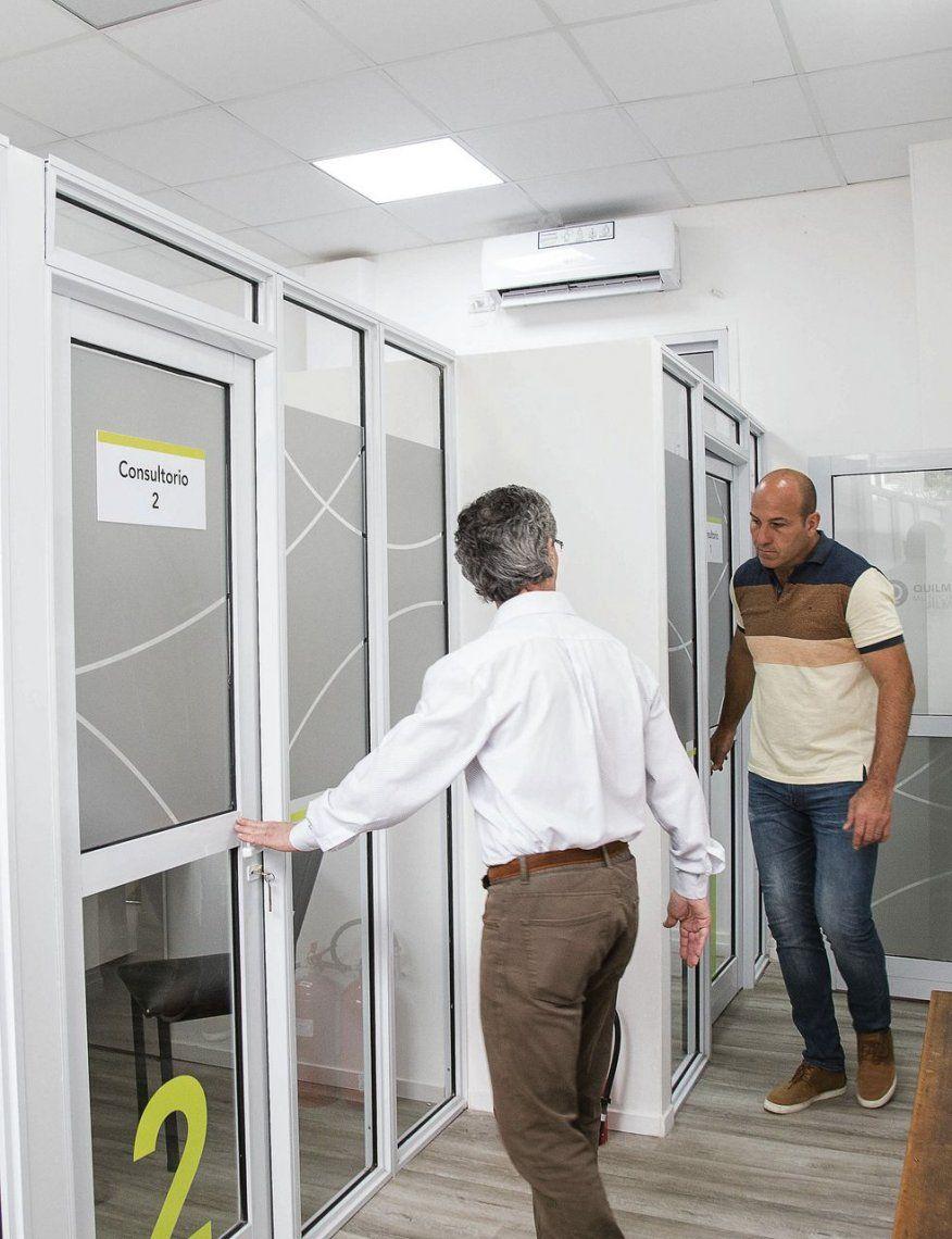 Quilmes: inauguran una sala de verificación médica