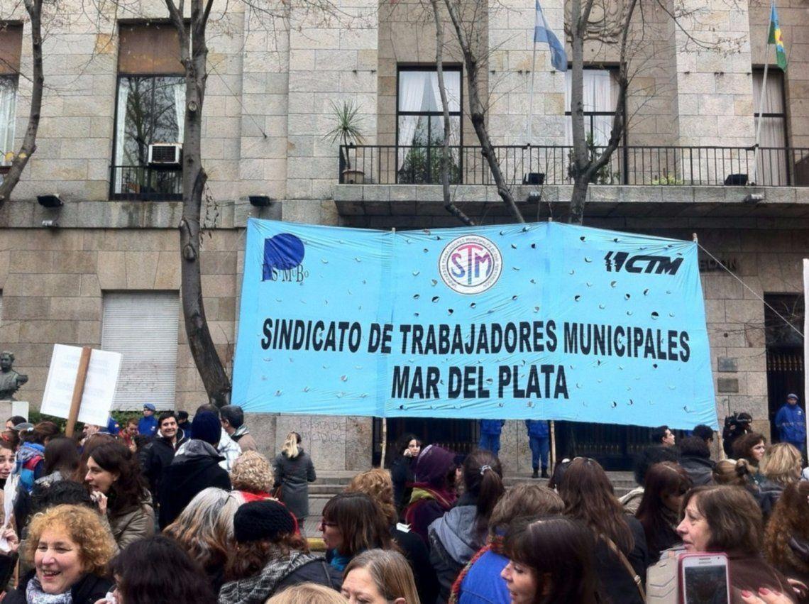 Mar del Plata: dictaron la conciliación obligatoria en el conflicto de municipales