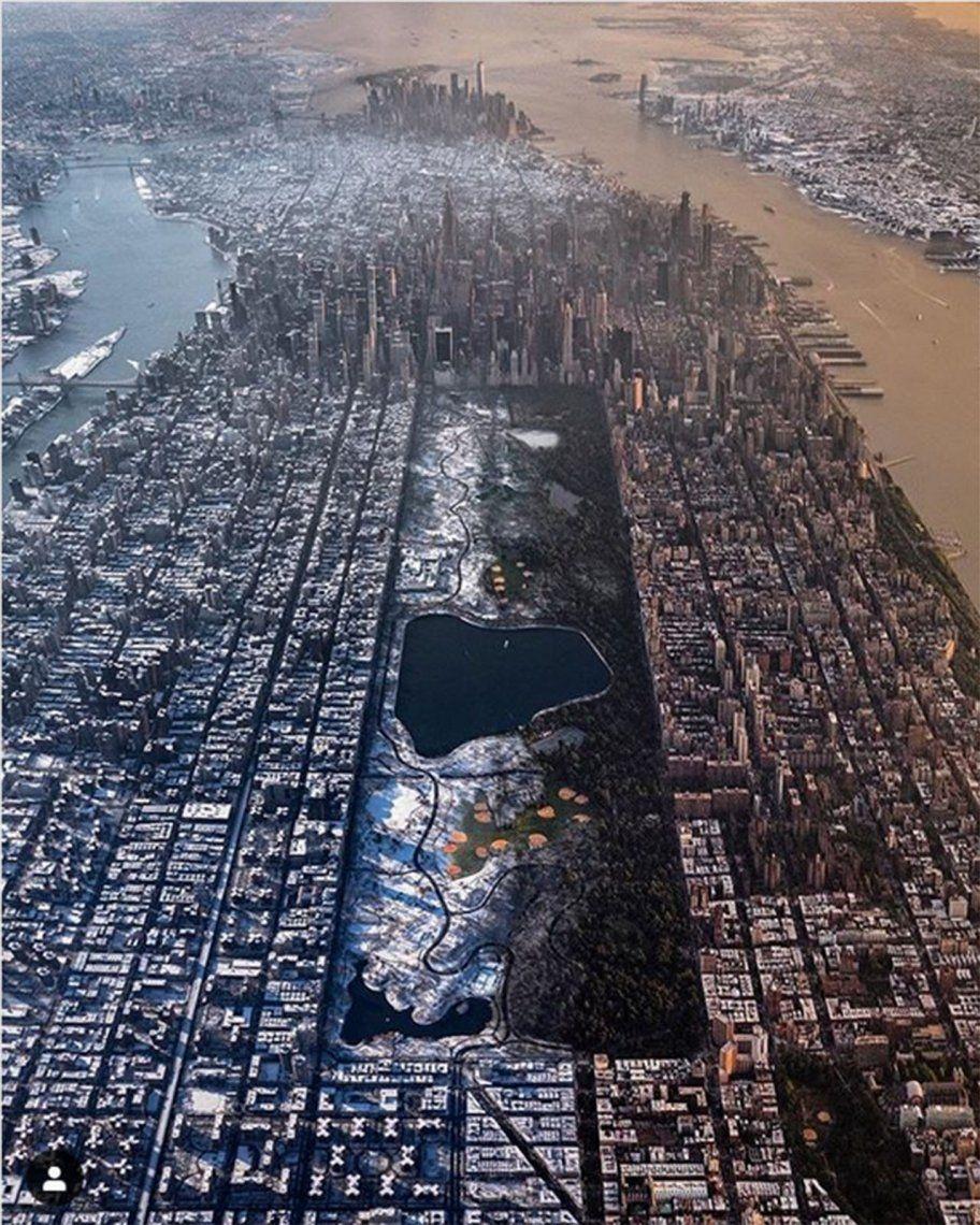 La impactante foto de Nueva York de la que todo el mundo habla