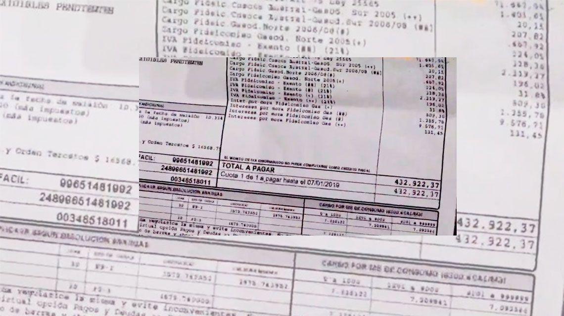 Tarifazo: a un club le llegó 432 mil pesos en la boleta de gas