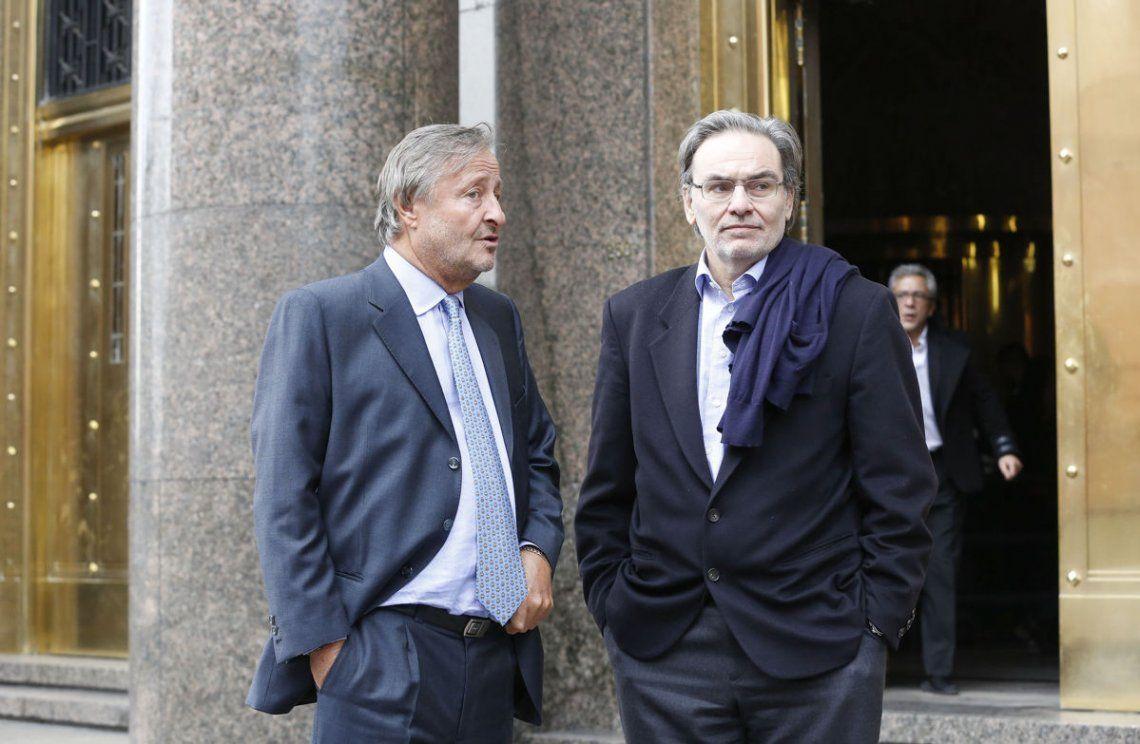 Gustavo Lopetegui y Cristiano Rattazzi. Foto: Pablo Lasansky / NA