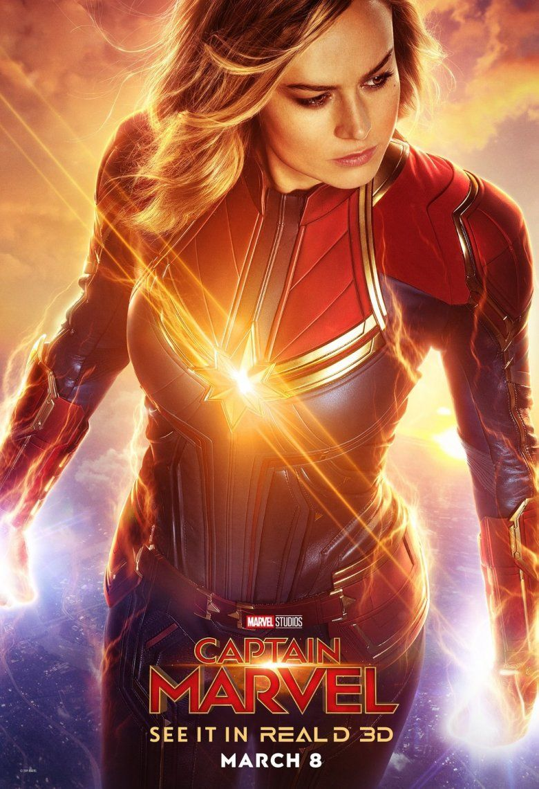 Capitana Marvel: excelente spot y nuevos pósters