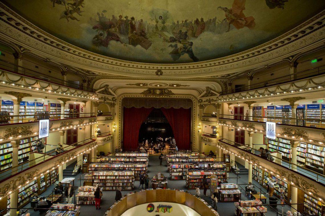 La librería más hermosa del mundo es Argentina