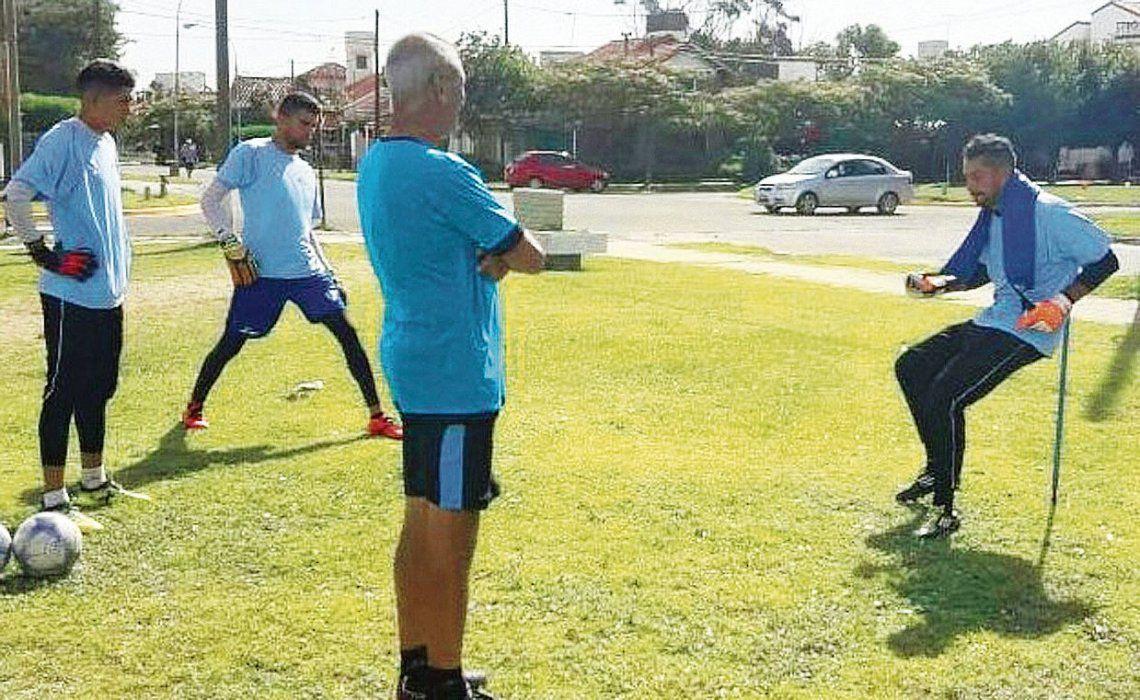 dArgentino de Quilmes avanza con su dura pretemporada.