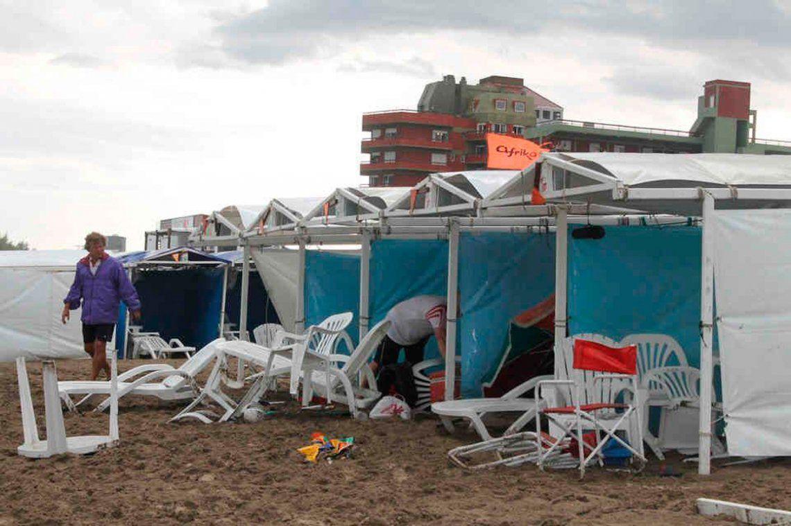 La tragedia del rayo en Villa Gesell se produjo un 9 de enero de 2014