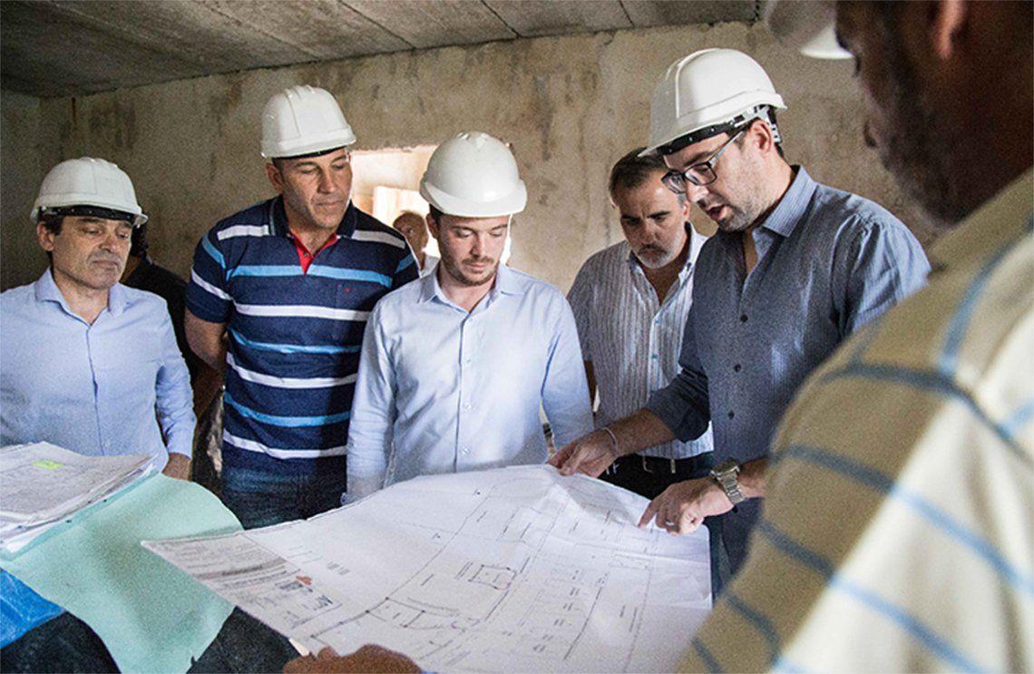 Quilmes: destacan el avance de las obras de la Red AMBA