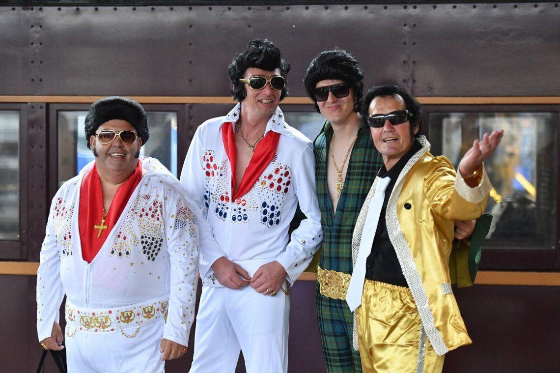 En busca del mejor imitador de Elvis Presley