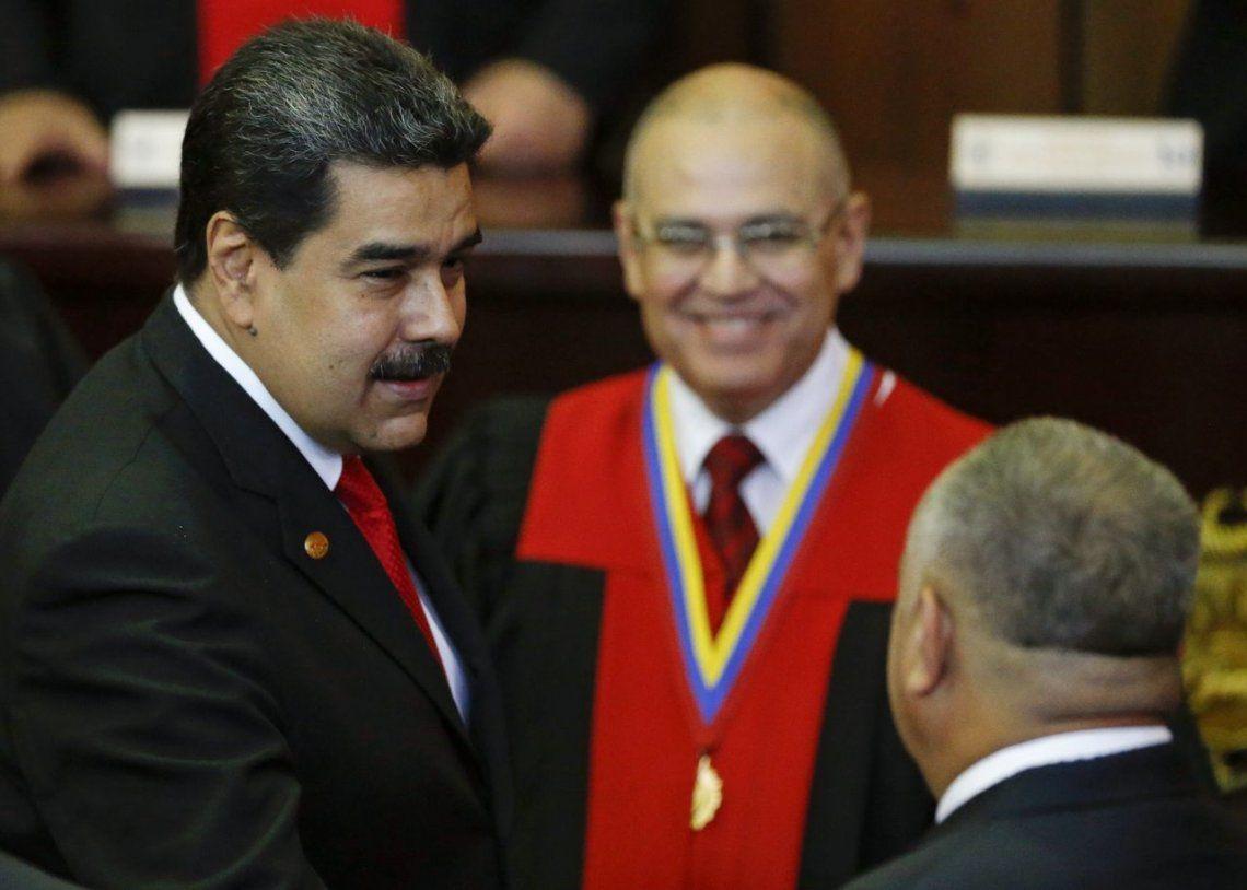 Nicolás Maduro asumió su segundo mandato como presidente de Venezuela