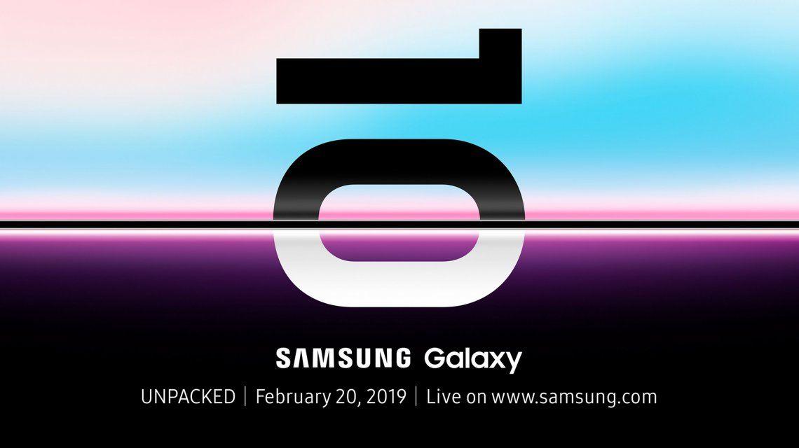 Galaxy S10: Samsung reveló la fecha de presentación de su nuevo smartphone