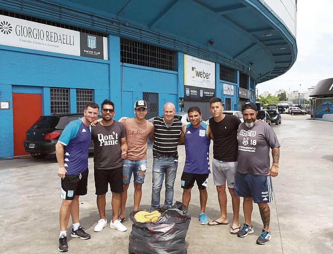 dDesde Racing se solidarizaron con el plantel de El Porvenir.