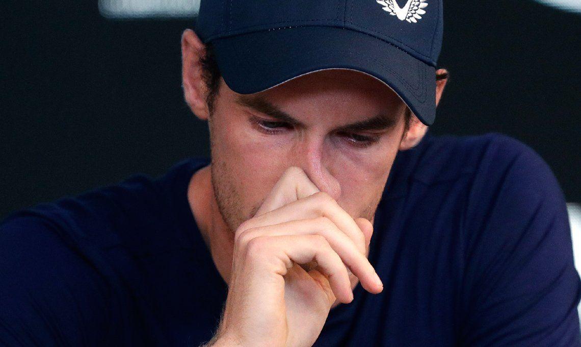 Entre lágrimas, Andy Murray afirmó: Australia podría ser mi último torneo