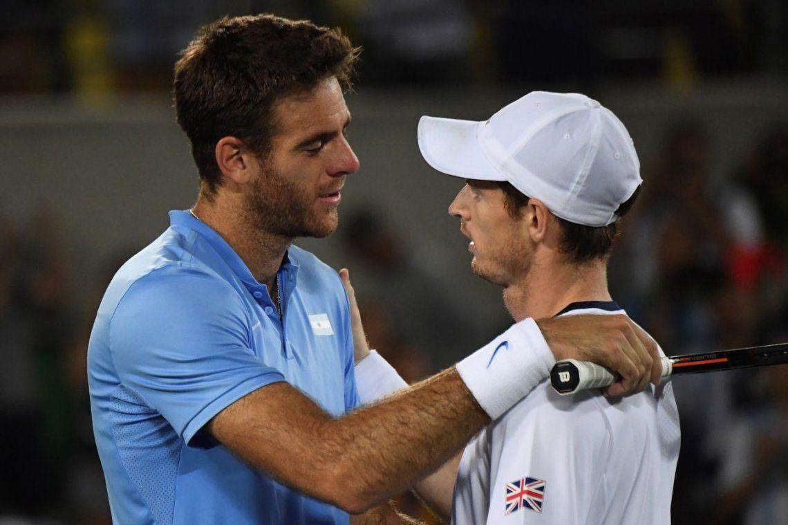 Juan Martín del Potro le mandó un mensaje conmovedor a Andy Murray por su retiro