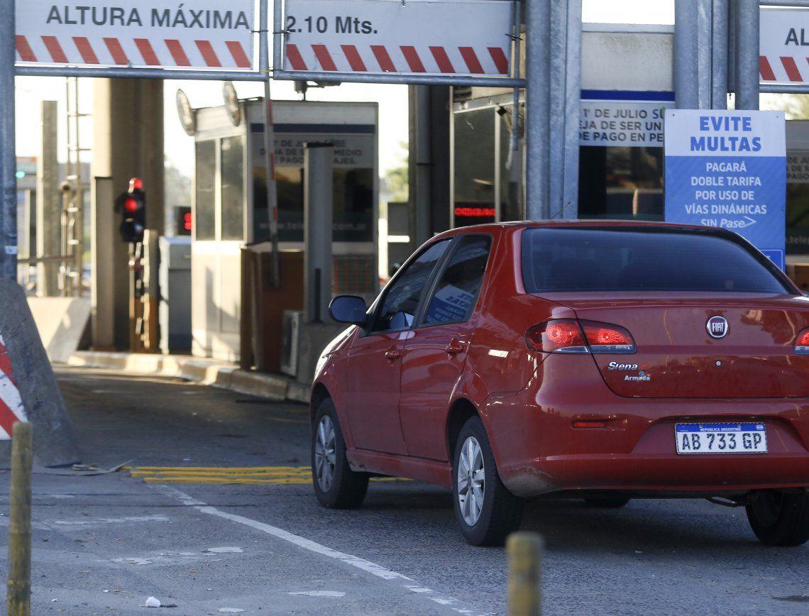 Aumentan los peajes de las autopistas 25 de Mayo, Perito Moreno e Illia