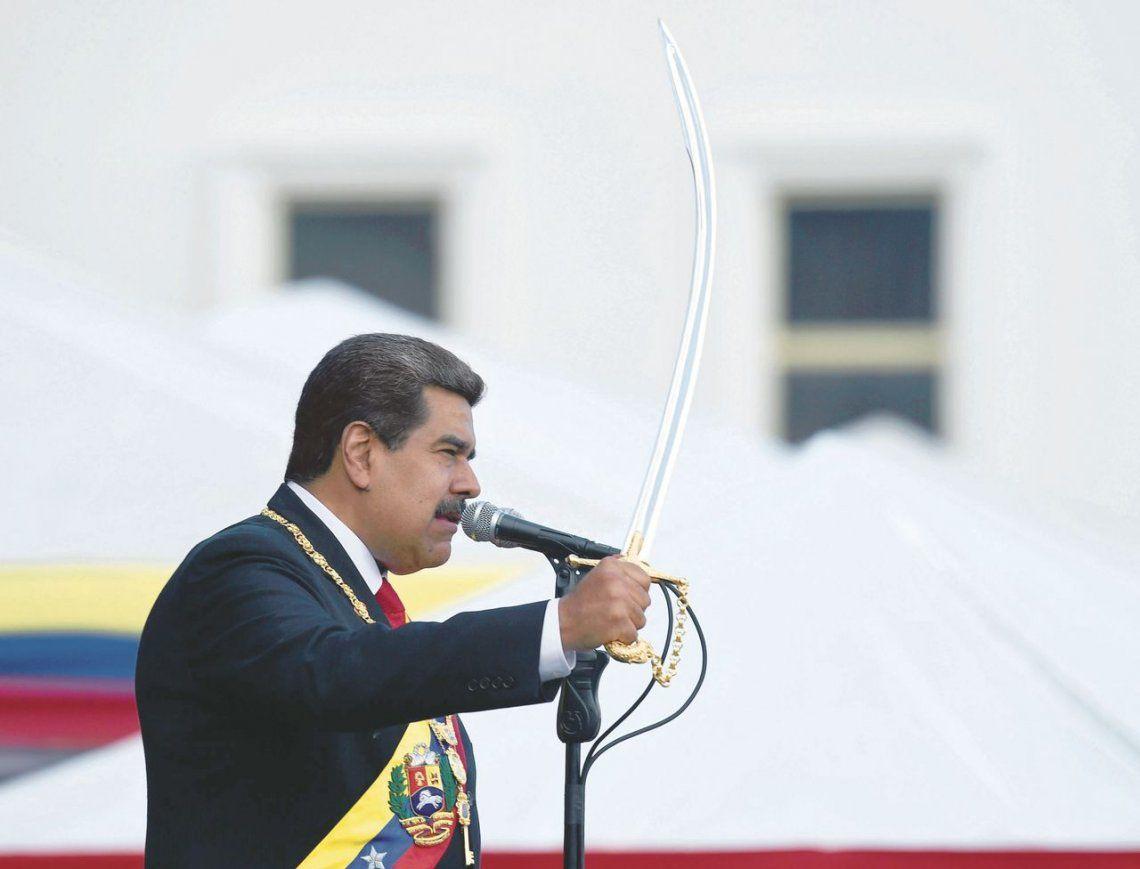 dMaduro asumió su segundo mandato en medio del rechazo internacional.