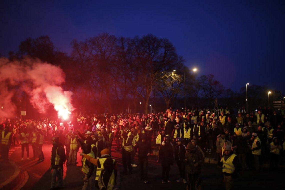 Chalecos Amarillos en Francia: novena marcha consecutiva en contra de las políticas económicas de Macron