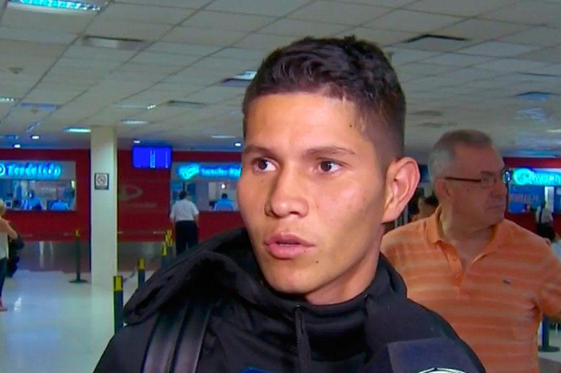 Campuzano: Llego al club más grande de Argentina