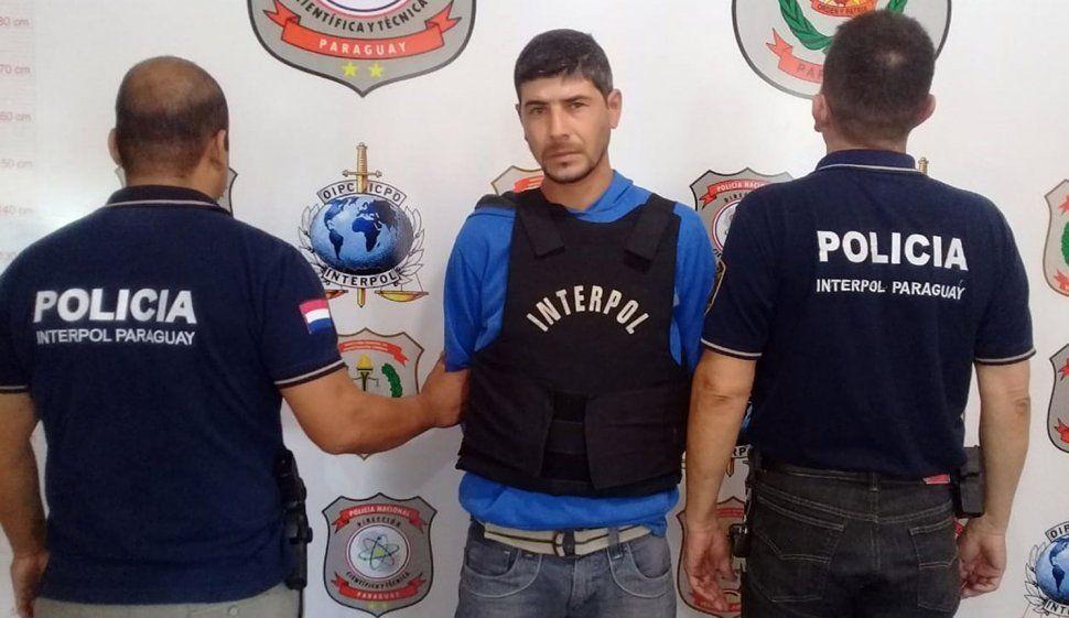 Detuvieron en Paraguay a un peligroso prófugo argentino