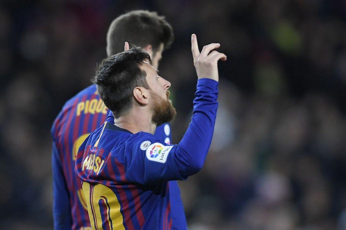 Messi llegó a los 400 goles en la Liga de España y rompió otro récord