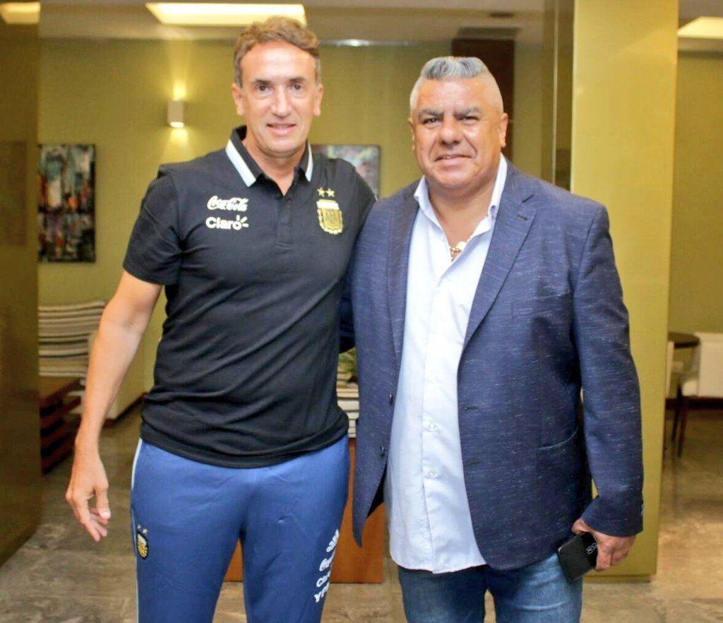 Beligoy y Chiqui Tapia anunciaron la llegada del VAR