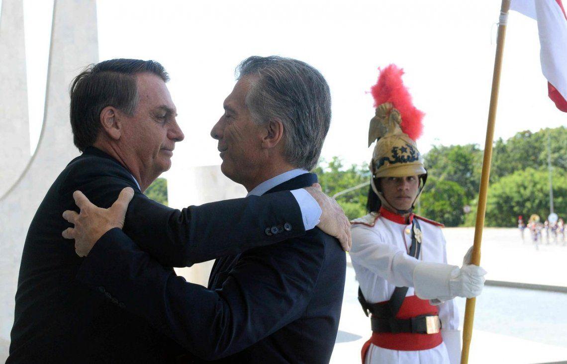 Bolsonaro visitará la Argentina y se reunirá con Macri el 6 de junio